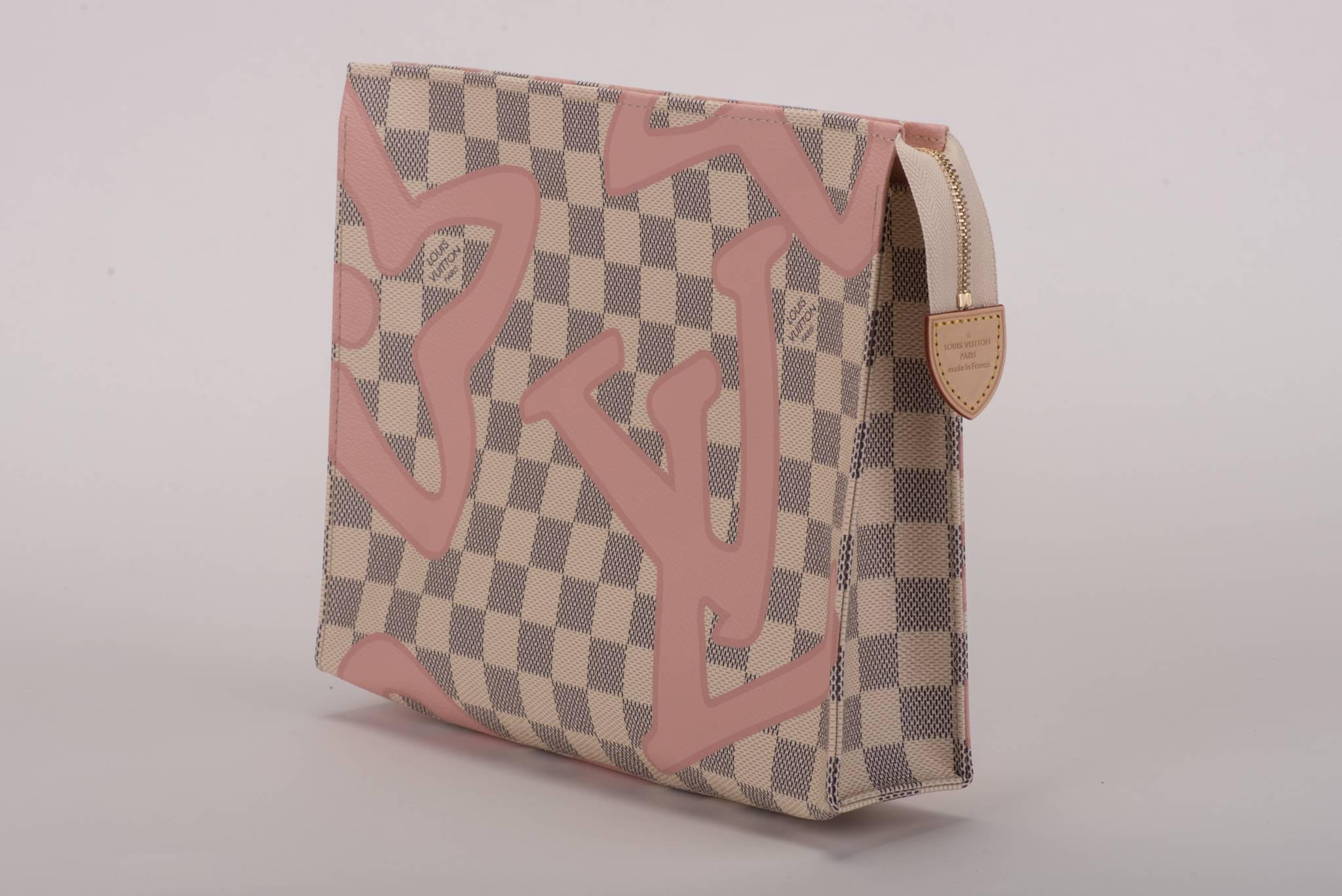 Louis Vuitton Limited Edition Tahiti Damier Pouchette lfOgPRwn2