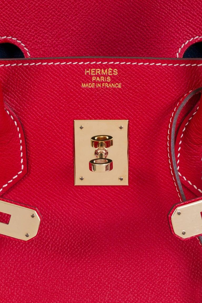 Hermes Candy Birkin 35 Rouge Casaque For Sale 3