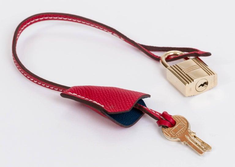 Hermes Candy Birkin 35 Rouge Casaque For Sale 4