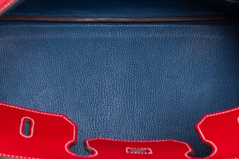 Hermes Candy Birkin 35 Rouge Casaque For Sale 5