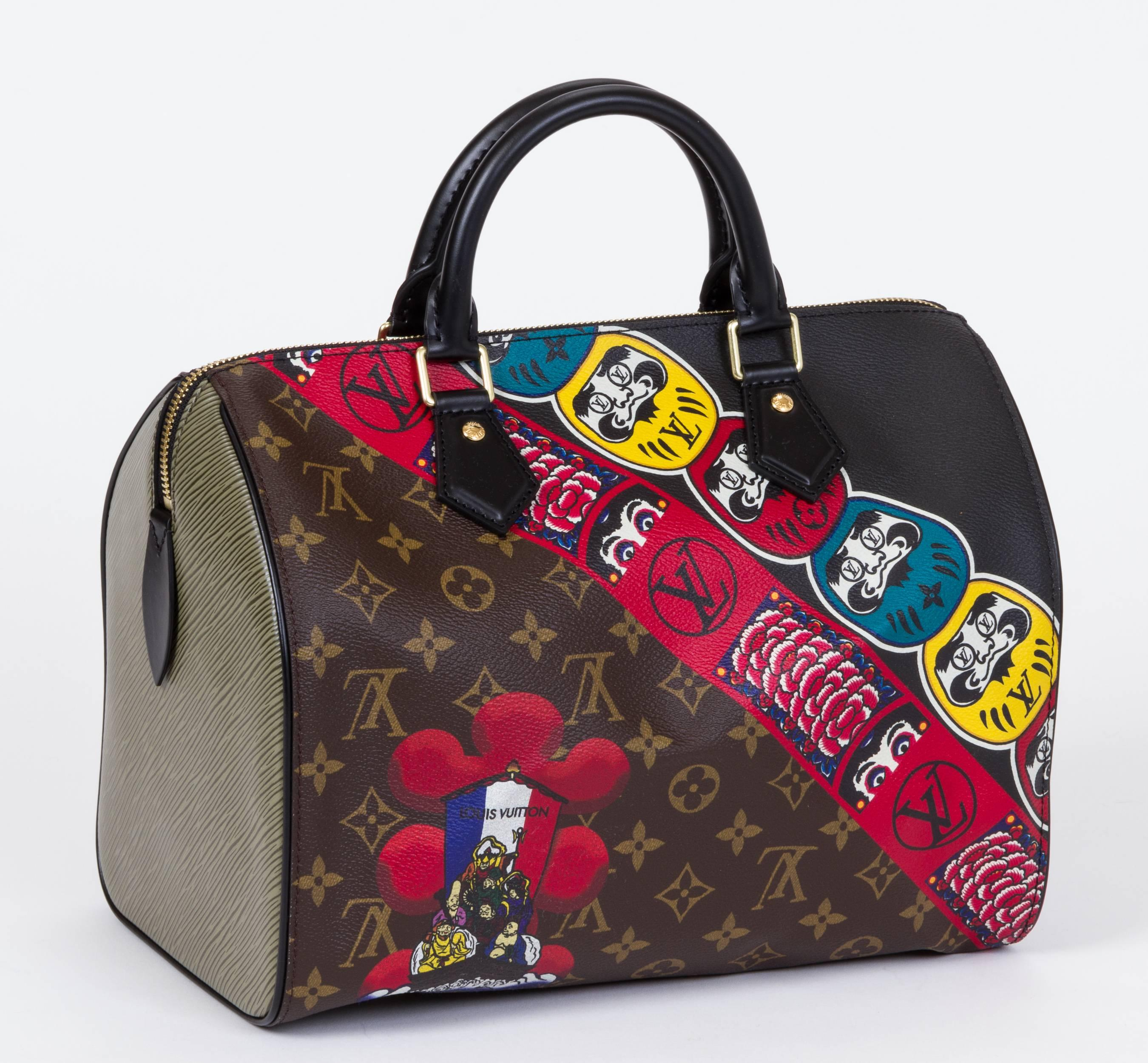 92fc623e336d New Vuitton Kabuki Limited Edtion Speedy 30 Bag For Sale at 1stdibs
