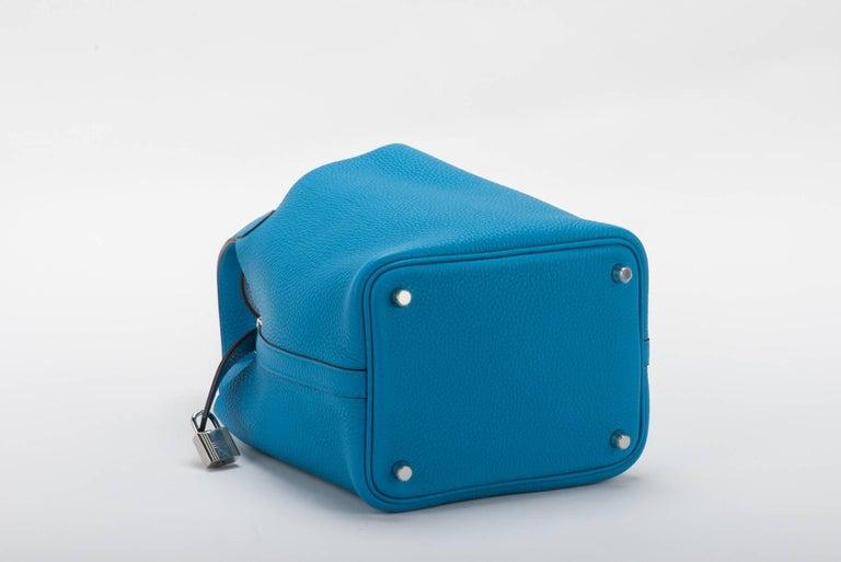 Women's Hermes New Picotin Blue Zanzibar For Sale