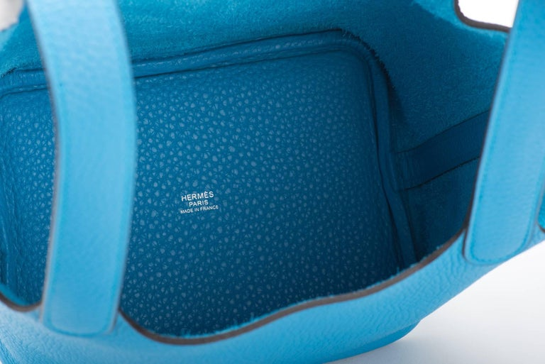 Hermes New Picotin Blue Zanzibar For Sale 3