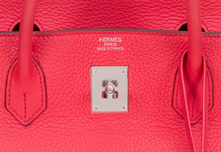 Hermès Rose Jaipur 40cm Birkin Bag For Sale 1