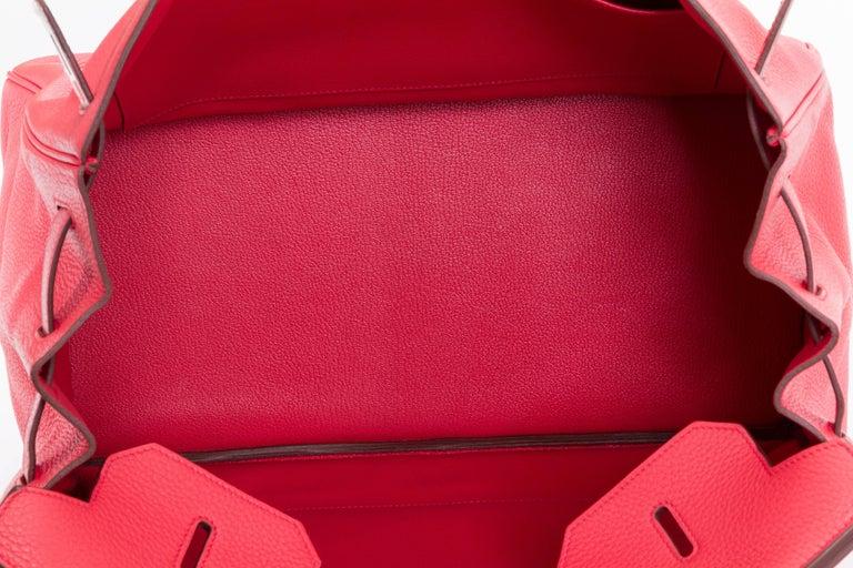Hermès Rose Jaipur 40cm Birkin Bag For Sale 2