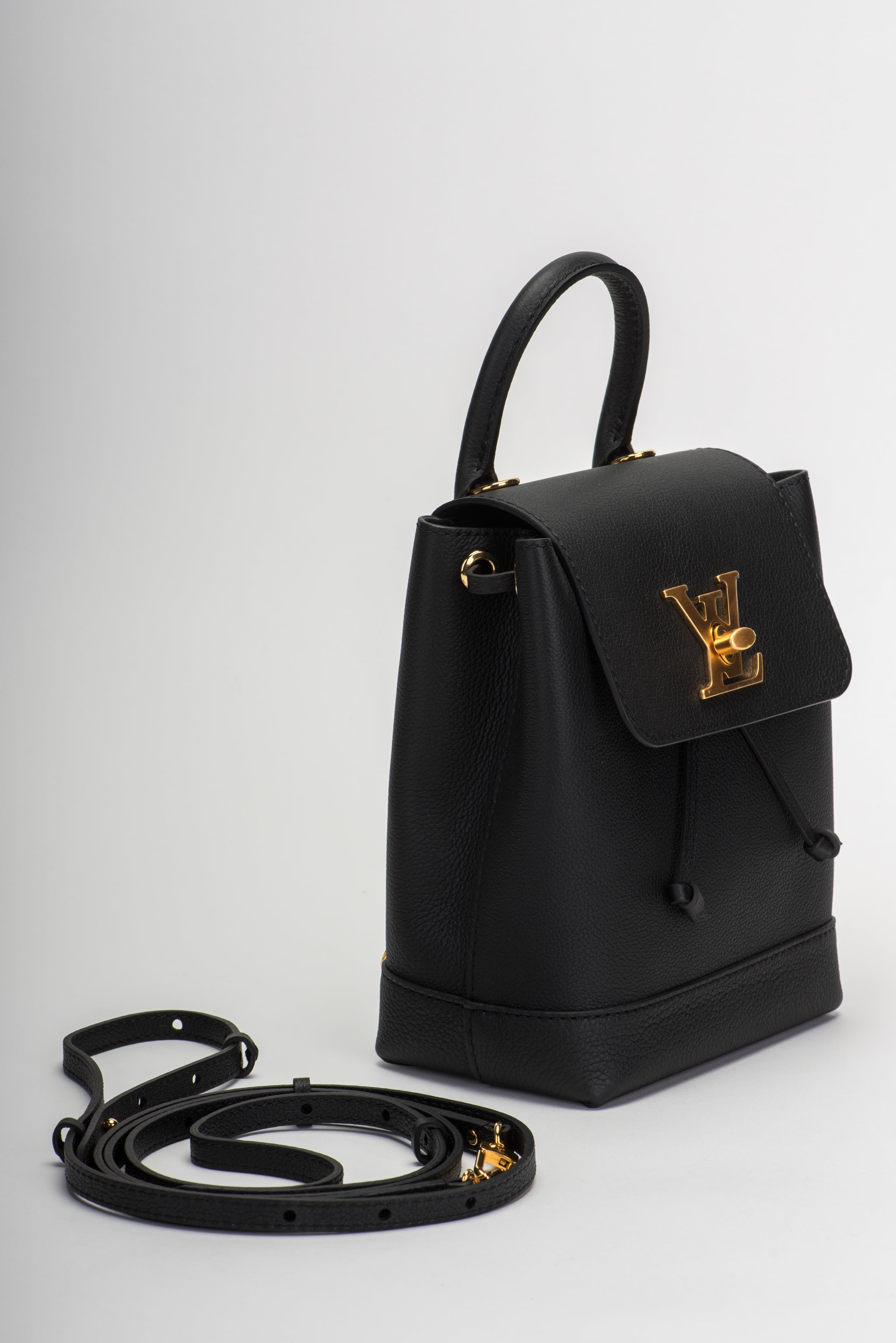 7b6156b11abe Louis Vuitton Sold Out New Black Lockme Backpack For Sale at 1stdibs