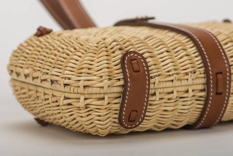 Women's Hermes Picnic Barenia Clutch Bag, 2017 For Sale