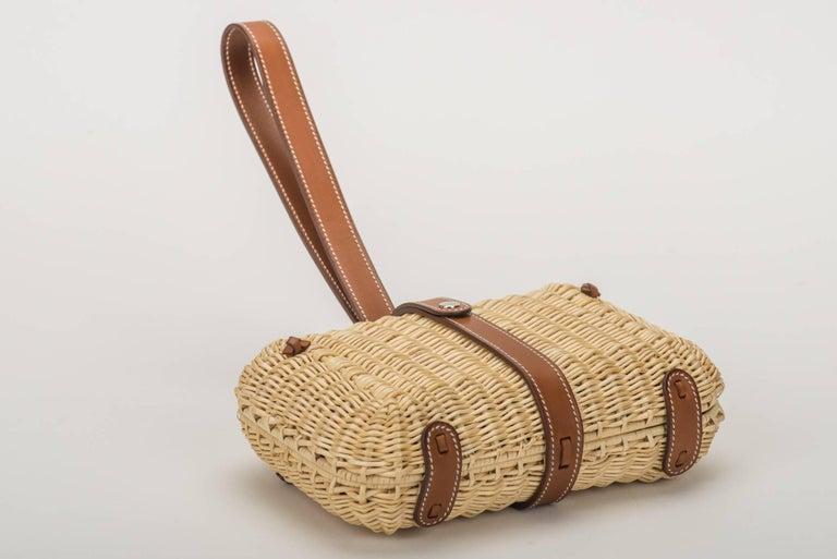 Hermes Picnic Barenia Clutch Bag, 2017 For Sale 1
