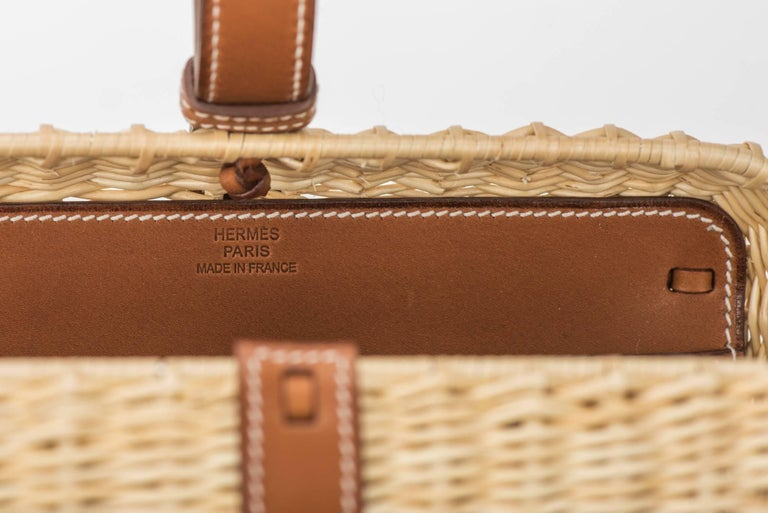 Hermes Picnic Barenia Clutch Bag, 2017 For Sale 2