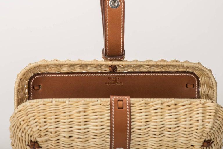 Hermes Picnic Barenia Clutch Bag, 2017 For Sale 3