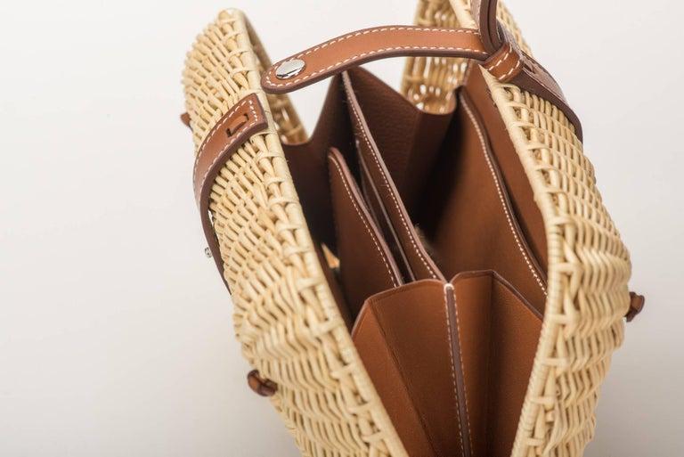 Hermes Picnic Barenia Clutch Bag, 2017 For Sale 5