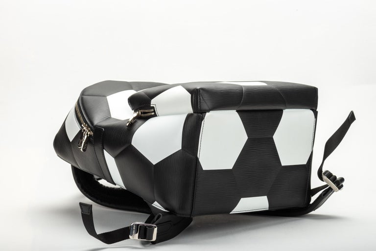 Louis Vuitton FIFA Black Backpack, 2018  In New Condition For Sale In West Hollywood, CA