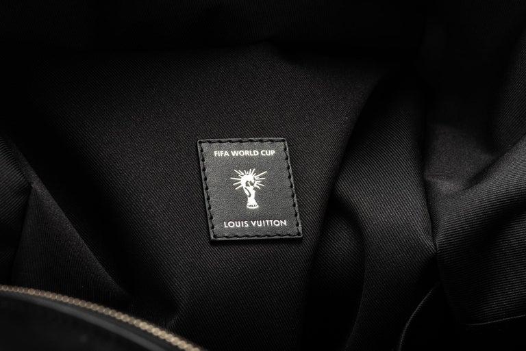 Women's Louis Vuitton FIFA Black Backpack, 2018  For Sale