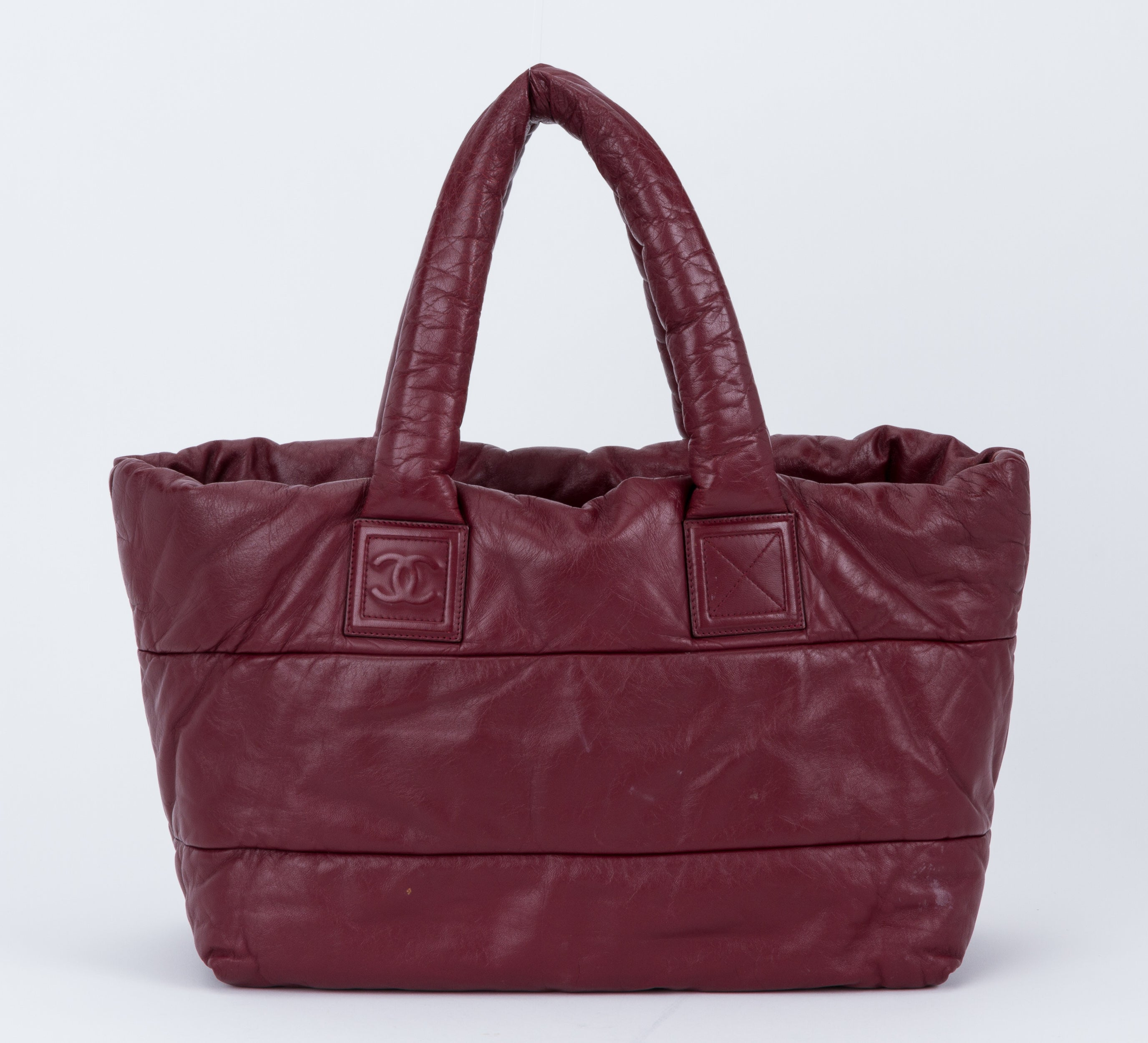 fe00597bfa94 Chanel Burgundy Leather Coco Cocoon Bag For Sale at 1stdibs