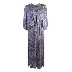 Pucci Periwinkle Blouse and Dress Ensemble Size 10
