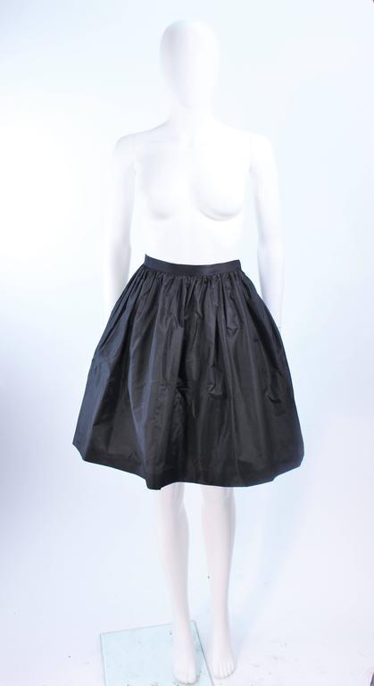 BELVILLE SASSON Velvet Skirt Evening Ensemble Off Shoulder Scallop Size 10 9