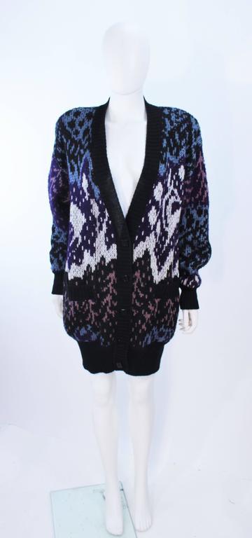 MISSONI Knit Navy Cardigan Pants & Skirt Ensemble Size Large For Sale 1