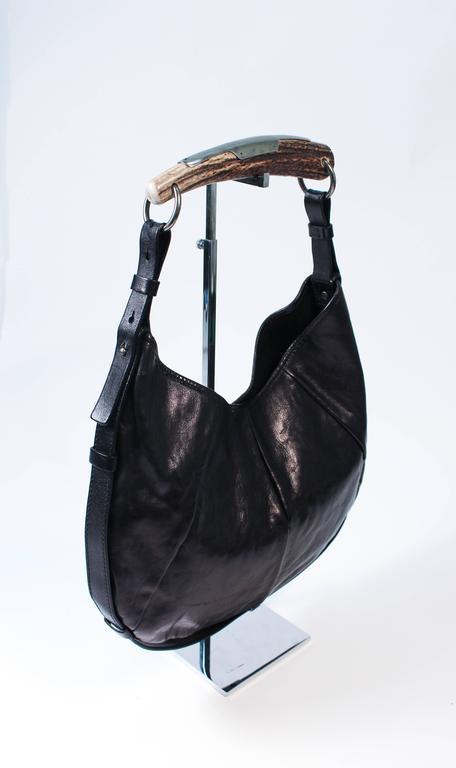 Saint Laurent Tom Ford Cerf Style Bois Sac En Cuir Noir Choisir Une  Meilleure Réduction Yi1UZ 8016777d836