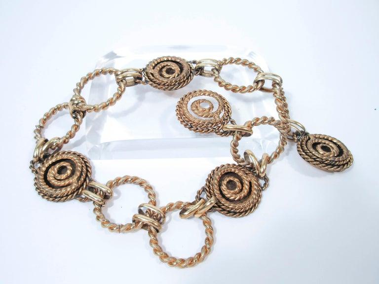Women's BUTLER & WILSON Gold Tone Dangle Belt  For Sale