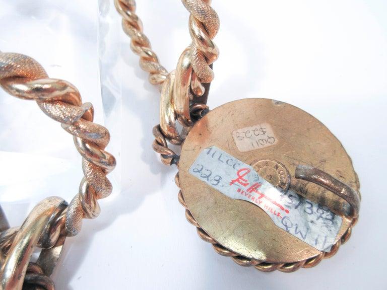 BUTLER & WILSON Gold Tone Dangle Belt  For Sale 1