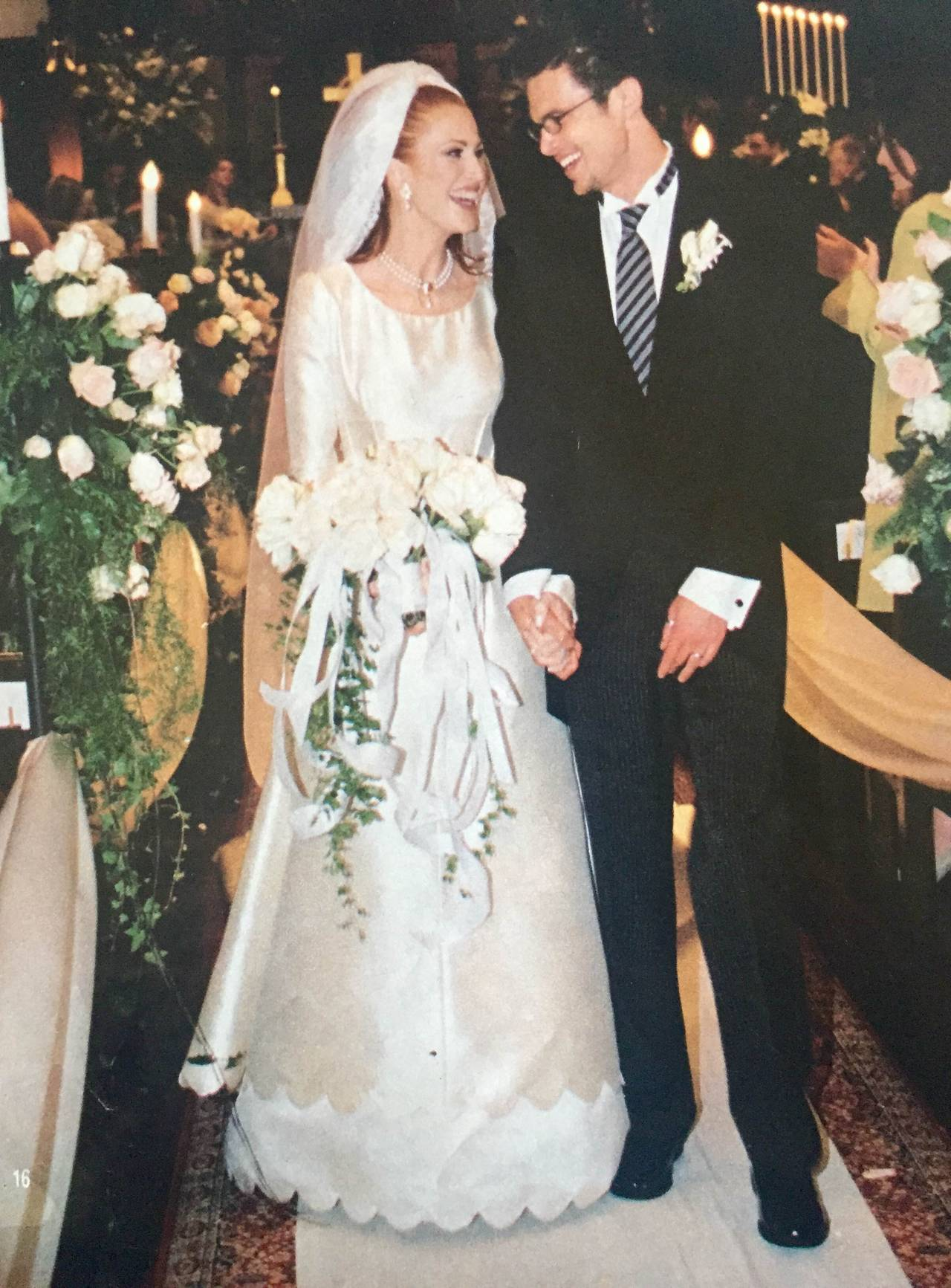 Women's Valentino 1996 Haute Couture Wedding Gown with Valentino Sketches For Sale