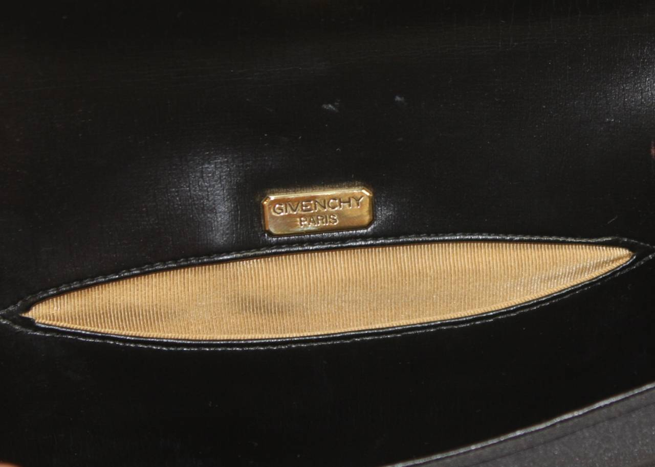 Givenchy Paris Black Clutch with Rhinestones 10