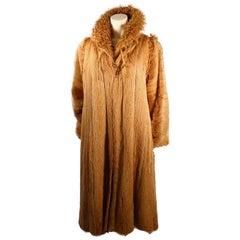Fendi Reversible Two Piece Marmot and curly Lamb Coat