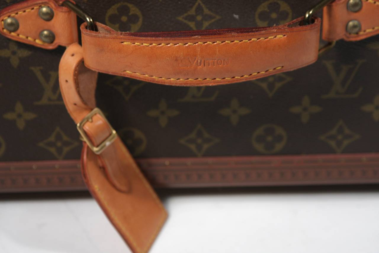 Louis Vuitton Vintage Monogram Cosmetic Travel Train Case  8