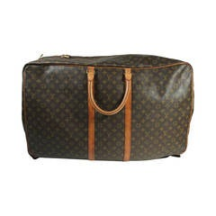 Louis Vuitton Vintage Large Soft Body Monogram Zip Around Suitcase