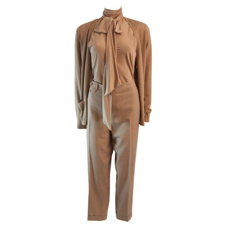 Ralph Lauren Black Label 3 Piece Pant Suit Size 12 1