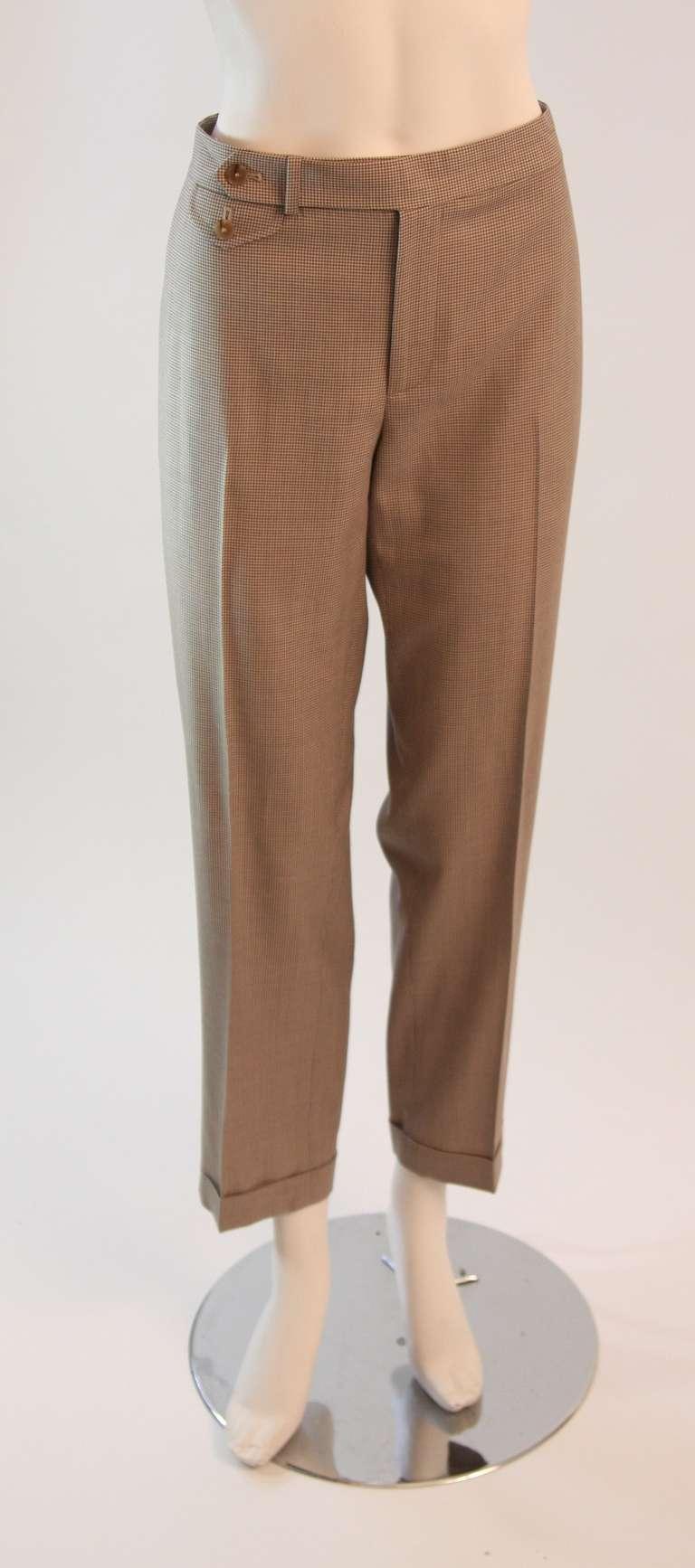 Ralph Lauren Black Label 3 Piece Pant Suit Size 12 8