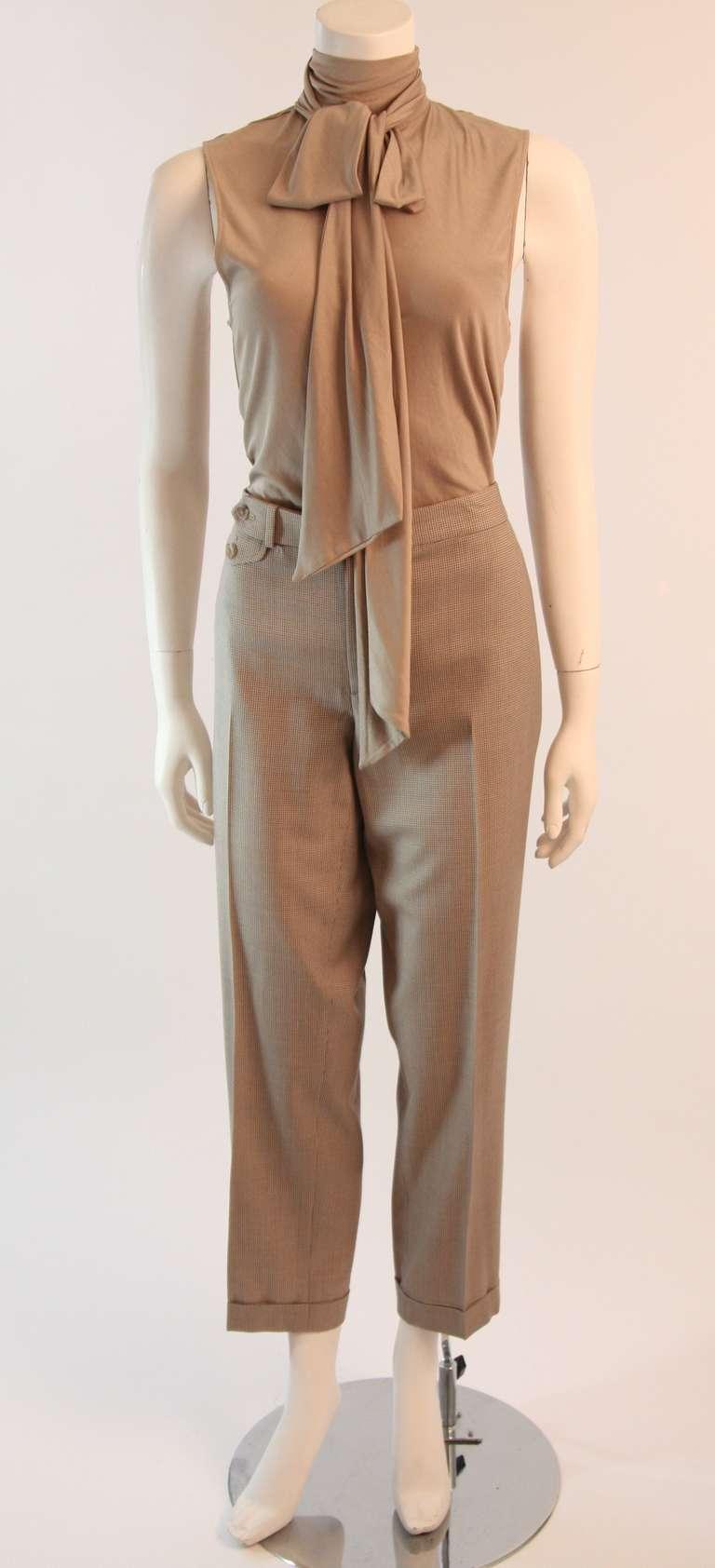 Ralph Lauren Black Label 3 Piece Pant Suit Size 12 3