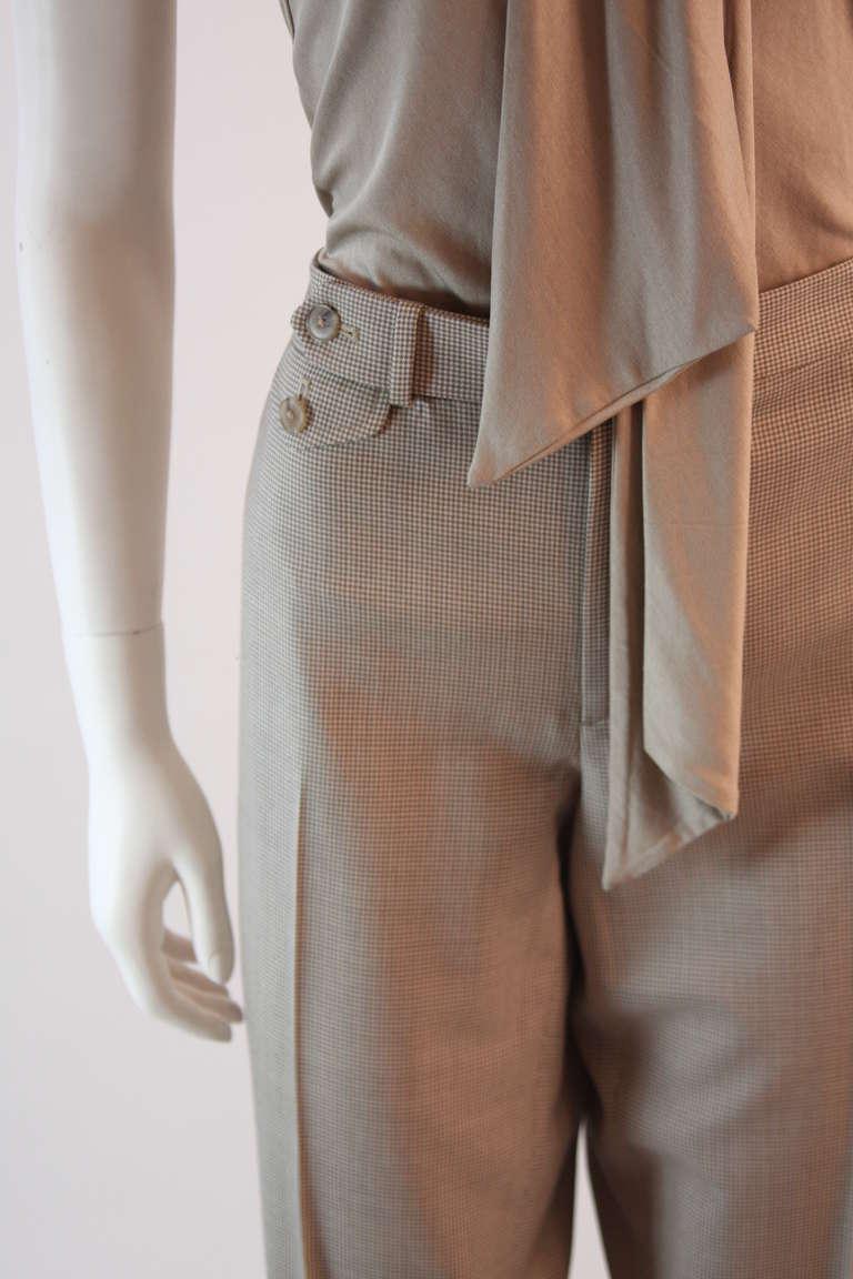 Ralph Lauren Black Label 3 Piece Pant Suit Size 12 9