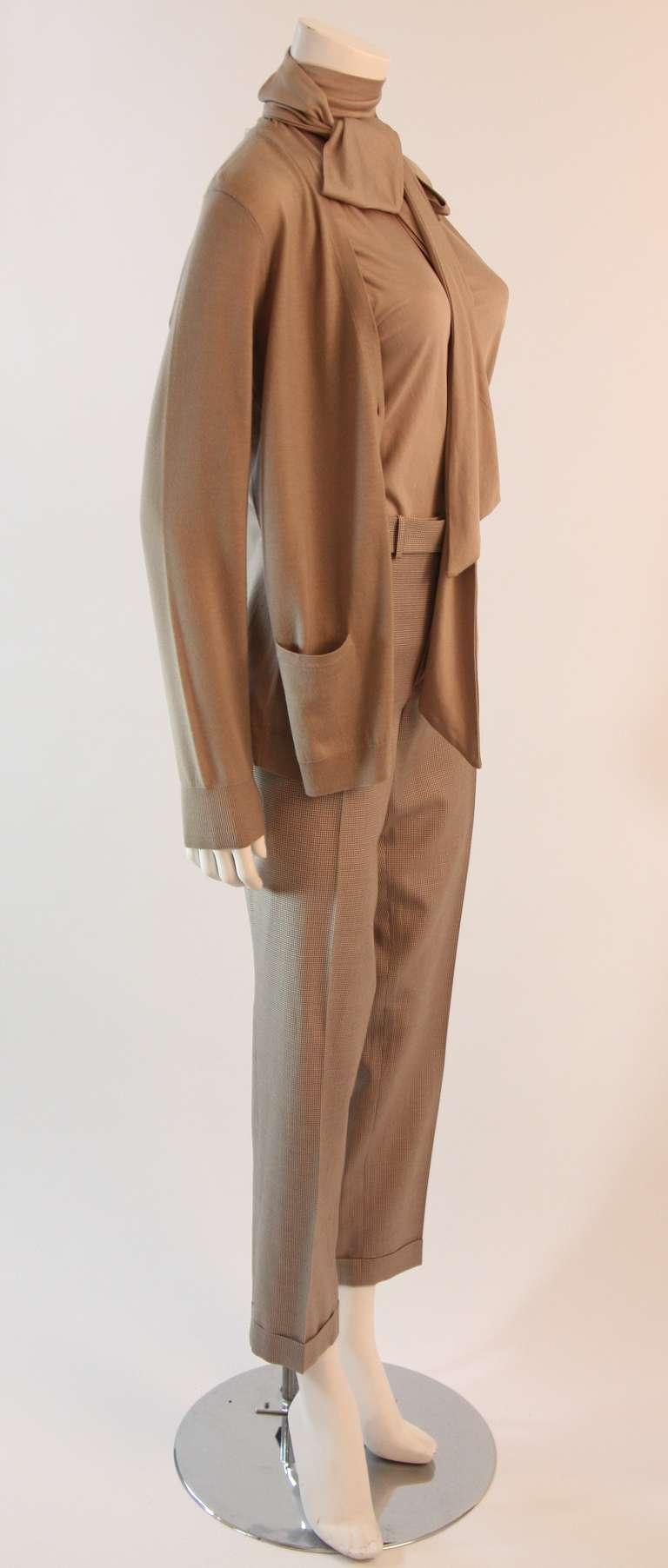 Ralph Lauren Black Label 3 Piece Pant Suit Size 12 4