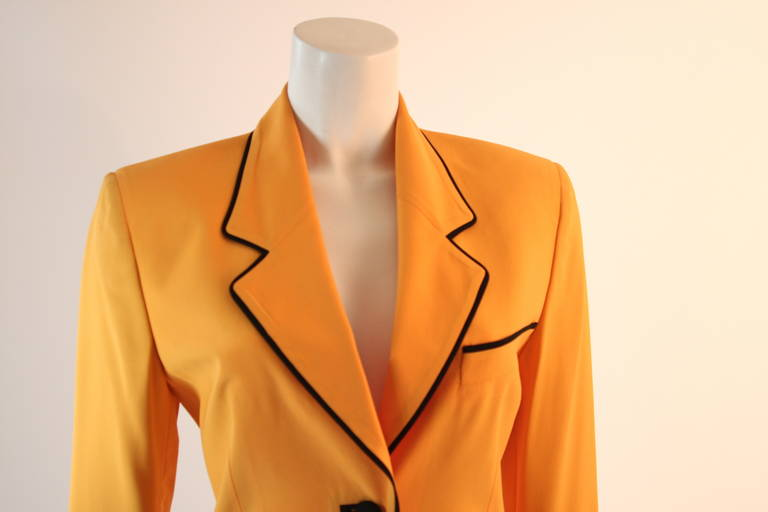 Women's Stellar Moschino Large Smiley Face Blazer For Sale