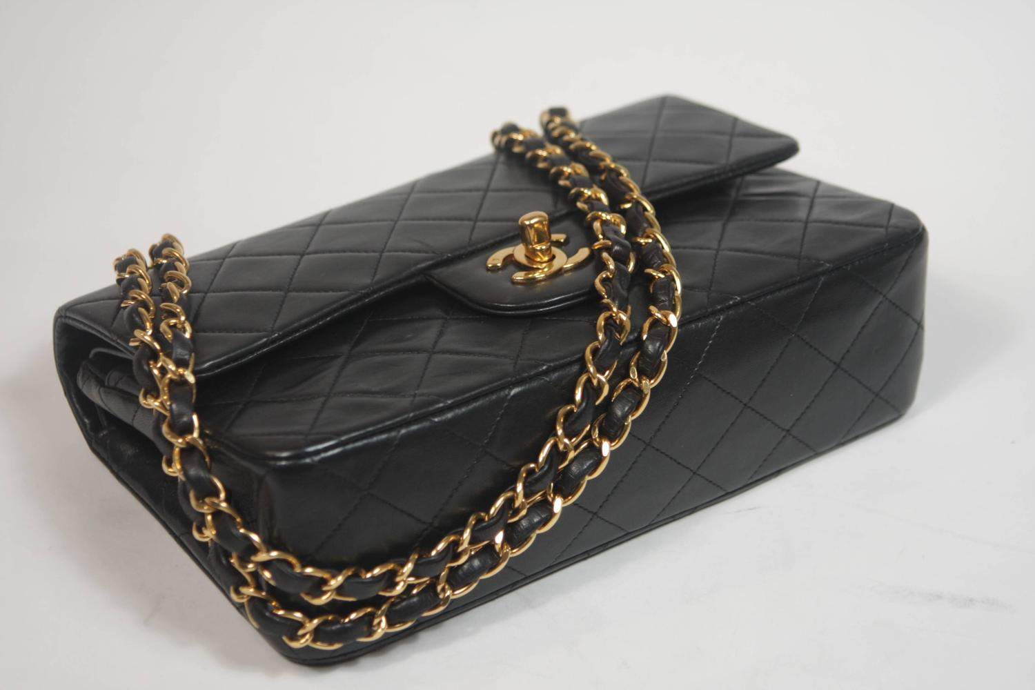 Chanel Black Caviar GHW Snap Wallet in Box at 1stdibs
