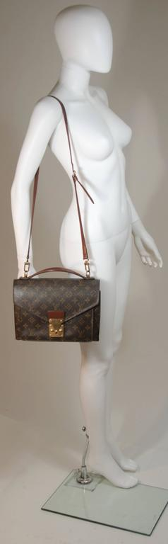 1467abdb0df0 LOUIS VUITTON MONCEAU Top Handle Purse with Optional Cross Body Strap For  Sale 1
