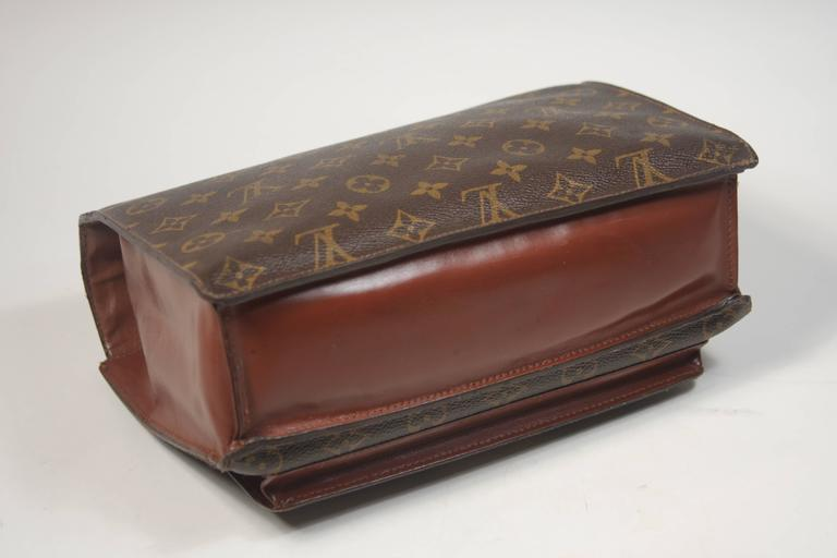 16513f388236 LOUIS VUITTON MONCEAU Top Handle Purse with Optional Cross Body Strap For  Sale 4