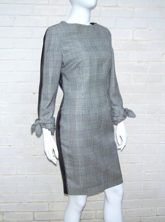 C.1990 Alma Couture 'Business In The Front Party In The Back' Leather Dress For Sale 2