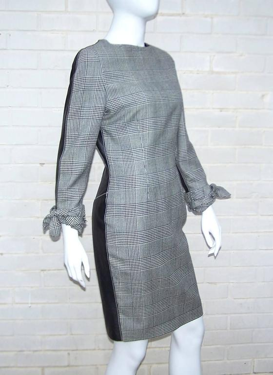 C.1990 Alma Couture 'Business In The Front Party In The Back' Leather Dress For Sale 3