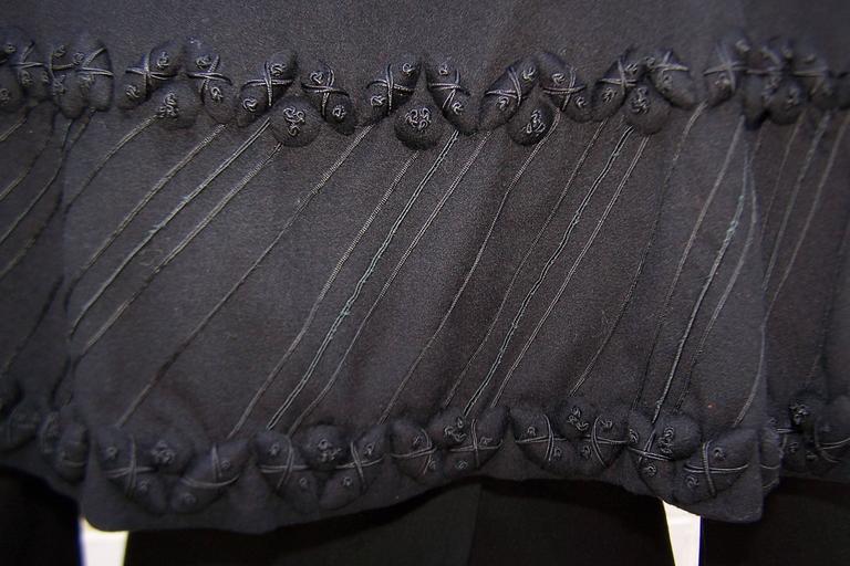 1940's Eisenberg Victorian Style Capelet Princess Coat For Sale 4
