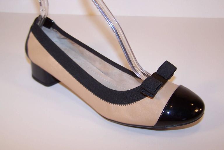 New In Box Ferragamo 'My Paris' Ballerina Shoes Size 8 For Sale 1