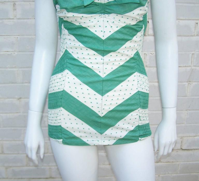 Glamour Girl 1950 S Cole Of California Pin Up Bathing Suit