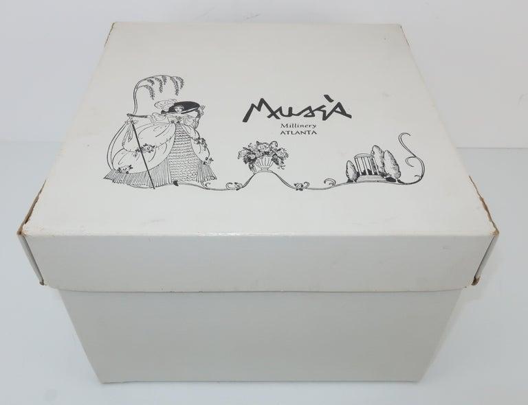 1950's Leopard Print Fur Pillbox Hat For Sale 5