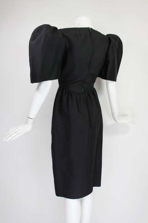 Late 1950s Galanos Architectural Cocktail Dress 3