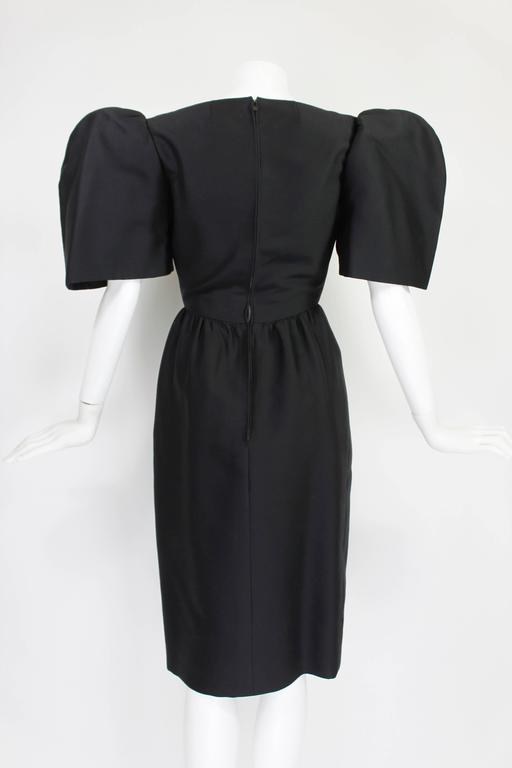 Late 1950s Galanos Architectural Cocktail Dress 5