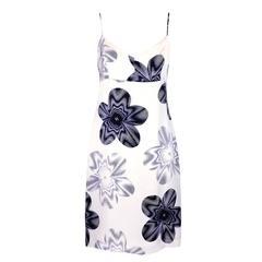 1990s Chanel Satin Mini Dress