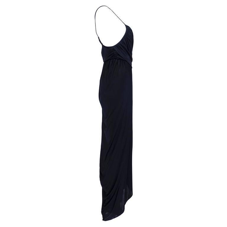 1990s Alexander McQueen Jersey Goddess Gown  2