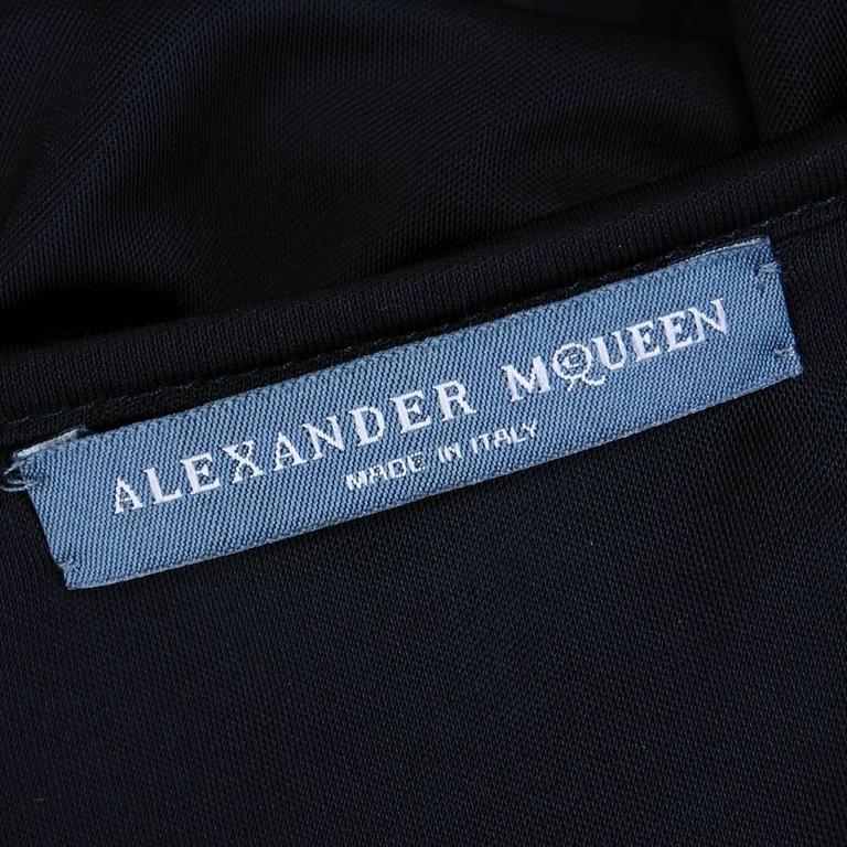 1990s Alexander McQueen Jersey Goddess Gown  4