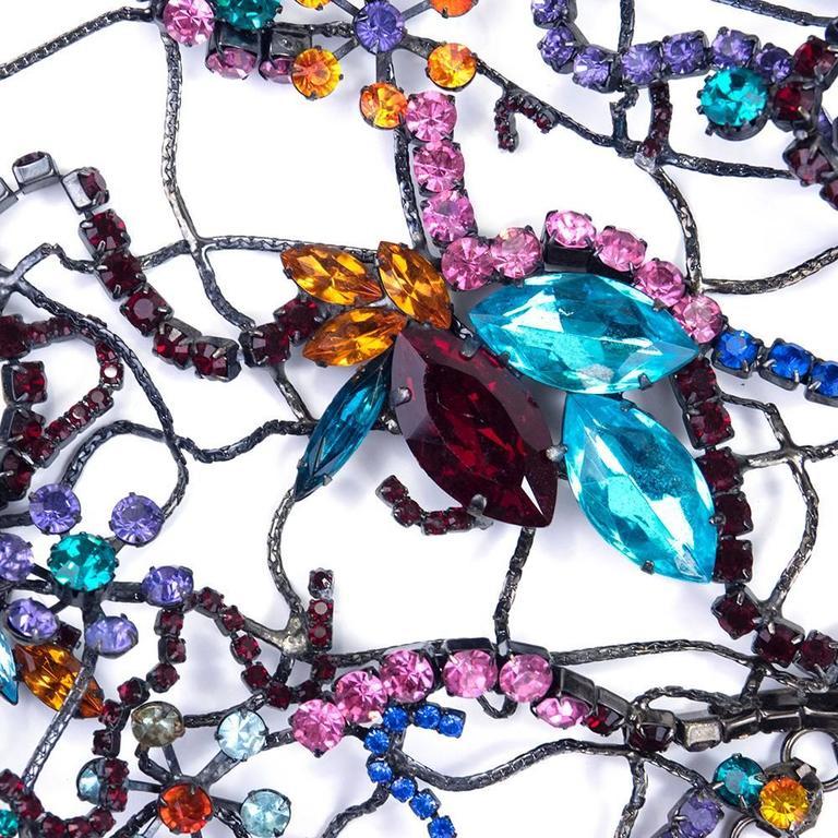 Stunning Multi-Color Jewelled Chain Bolero 4